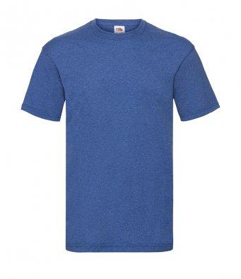 budget t shirt retro heather royal