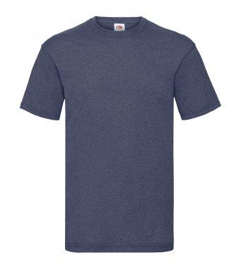 budget t shirt vintage heather navy