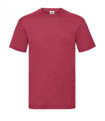 budget t shirt vintage heather red