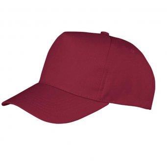 burgundy promotional caps