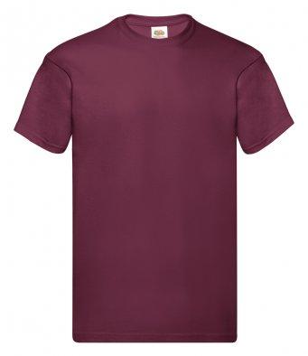 burgundy promotional t shirt