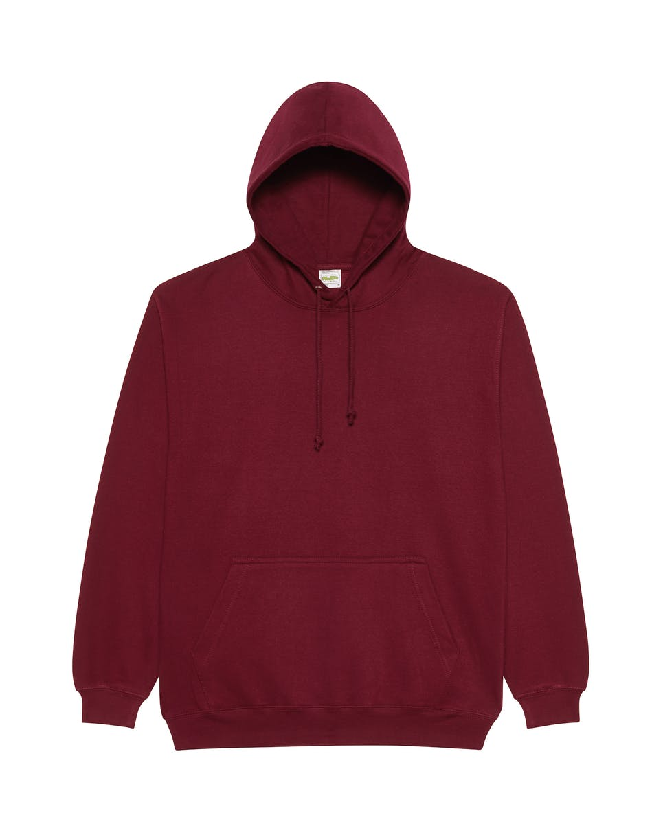 burgundy smoke overhead college hoodies