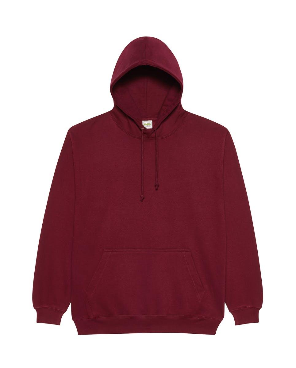 burgundy smoke overhead college hoodies