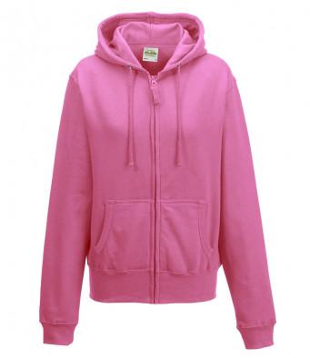 candyfloss pink ladies hoodie