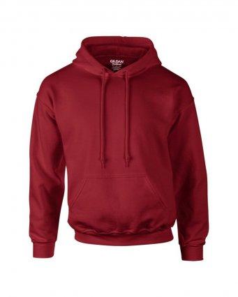 cardinal red premium overhead hoodie