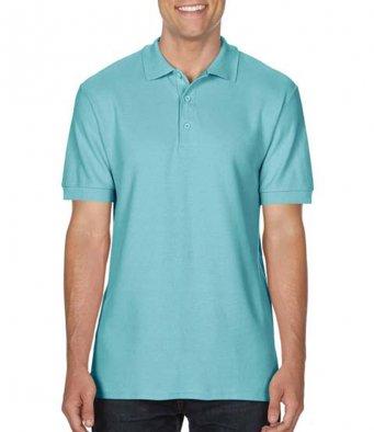 chalky mint premium cotton polo shirt