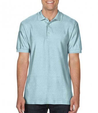 chambray premium cotton polo shirt