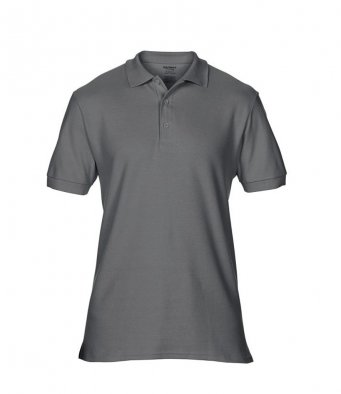 charcoal premium cotton polo shirt