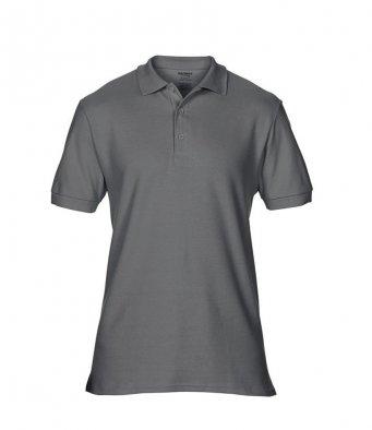 charcoal premium cotton polo shirt
