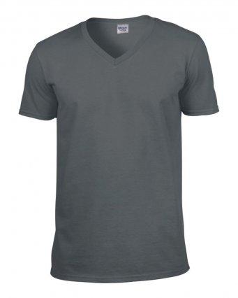 charcoal v neck t shirt
