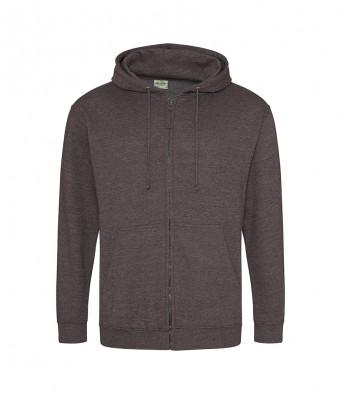 charcoal zipped hoodie