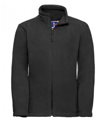 childrens black fleece jacket
