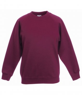 childrens burgundy sweatshirt