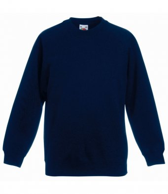 childrens deep navy sweatshirt