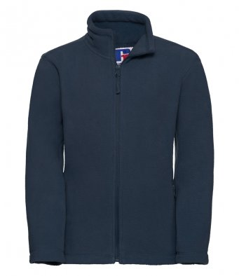 childrens french navy fleece jacket