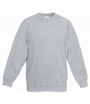 childrens heather grey sweatshirt