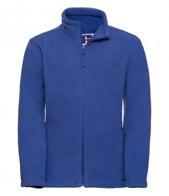childrens royal fleece jacket