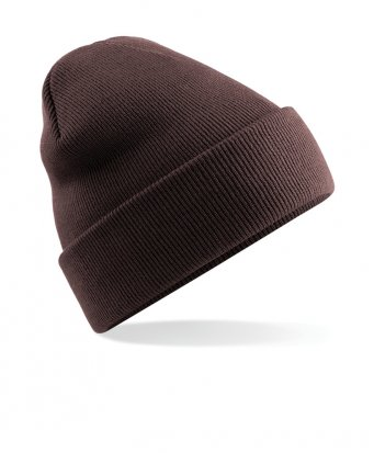 chocolate cuffed beanie