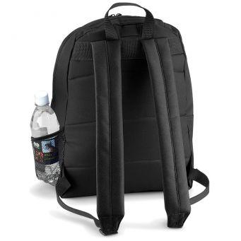 classic backpack black back