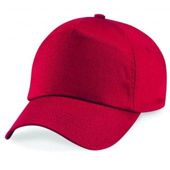 classic red classic cap