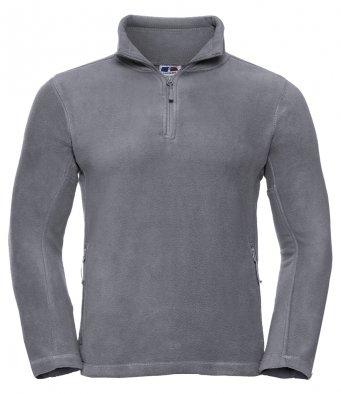 convoy grey 34 zip fleece jacket
