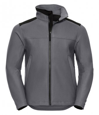 convoy grey workwear softshell jacket