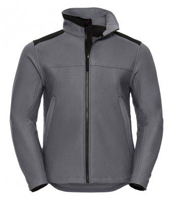 convoy grey workwear softshell jacket