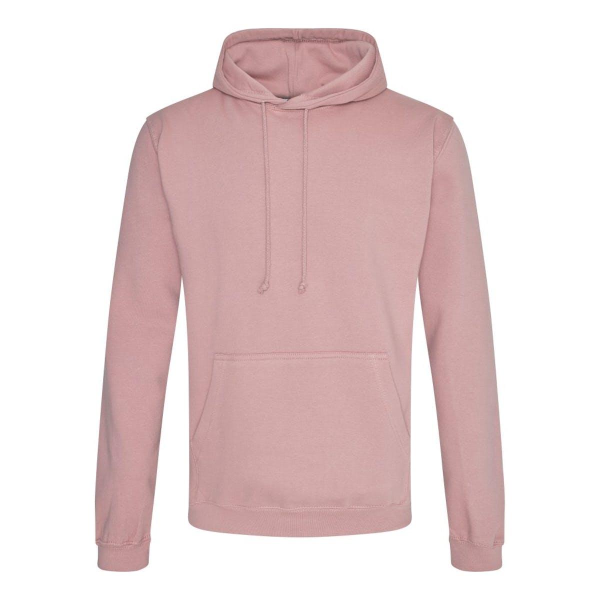 dusty pink college hoodies