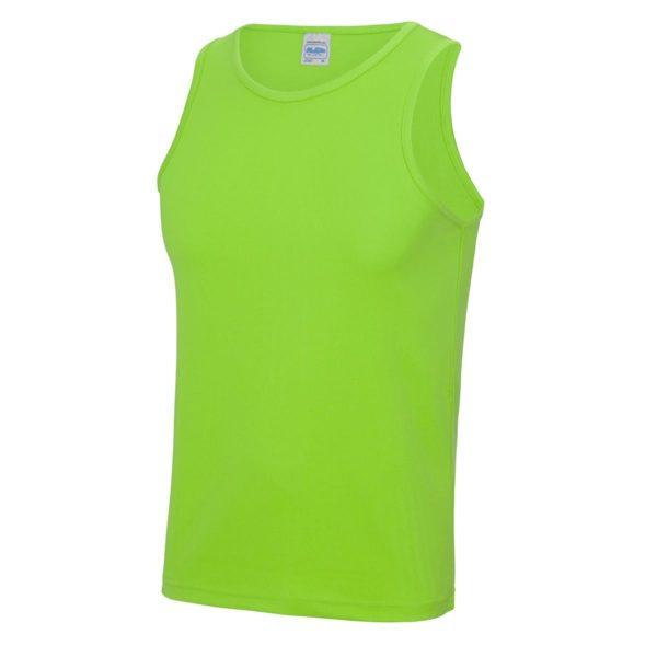 elec green sports vest