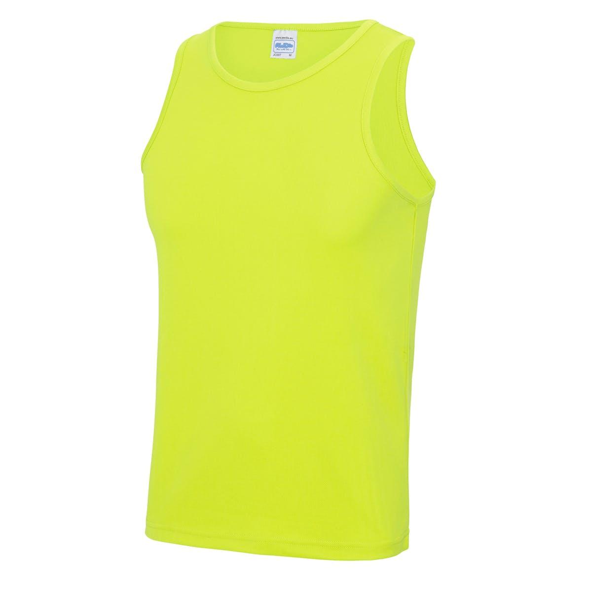 elec yellow sports vest