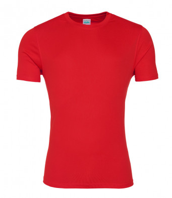 fire red smooth t shirt