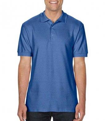 flo blue premium cotton polo shirt