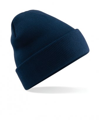 french navy cuffed beanie