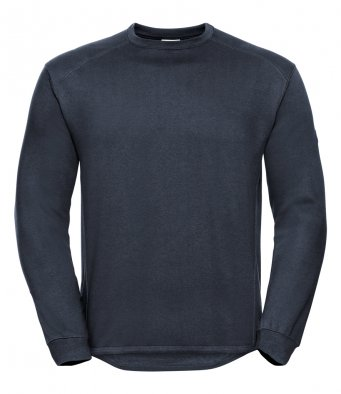 french navy heavyweight sweatshirt