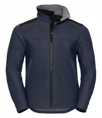 french navy workwear softshell jacket