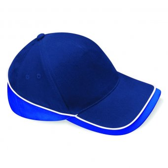 frenchnavy brightroyal white teamwear caps