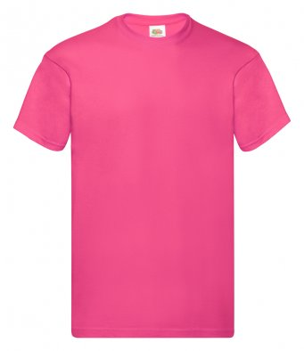 fuchsia promotional t shirt