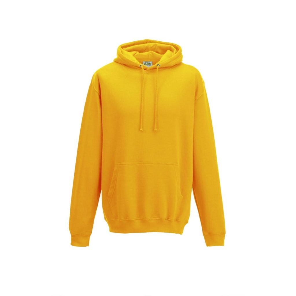 gold college hoodies