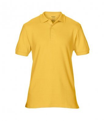 gold premium cotton polo shirt