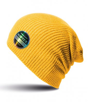goldenyellow softex beanie