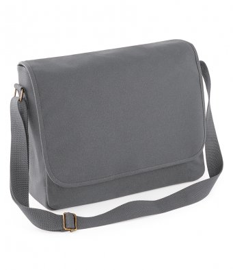 graphite messenger bag