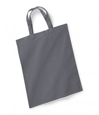 graphite tote bag short handles