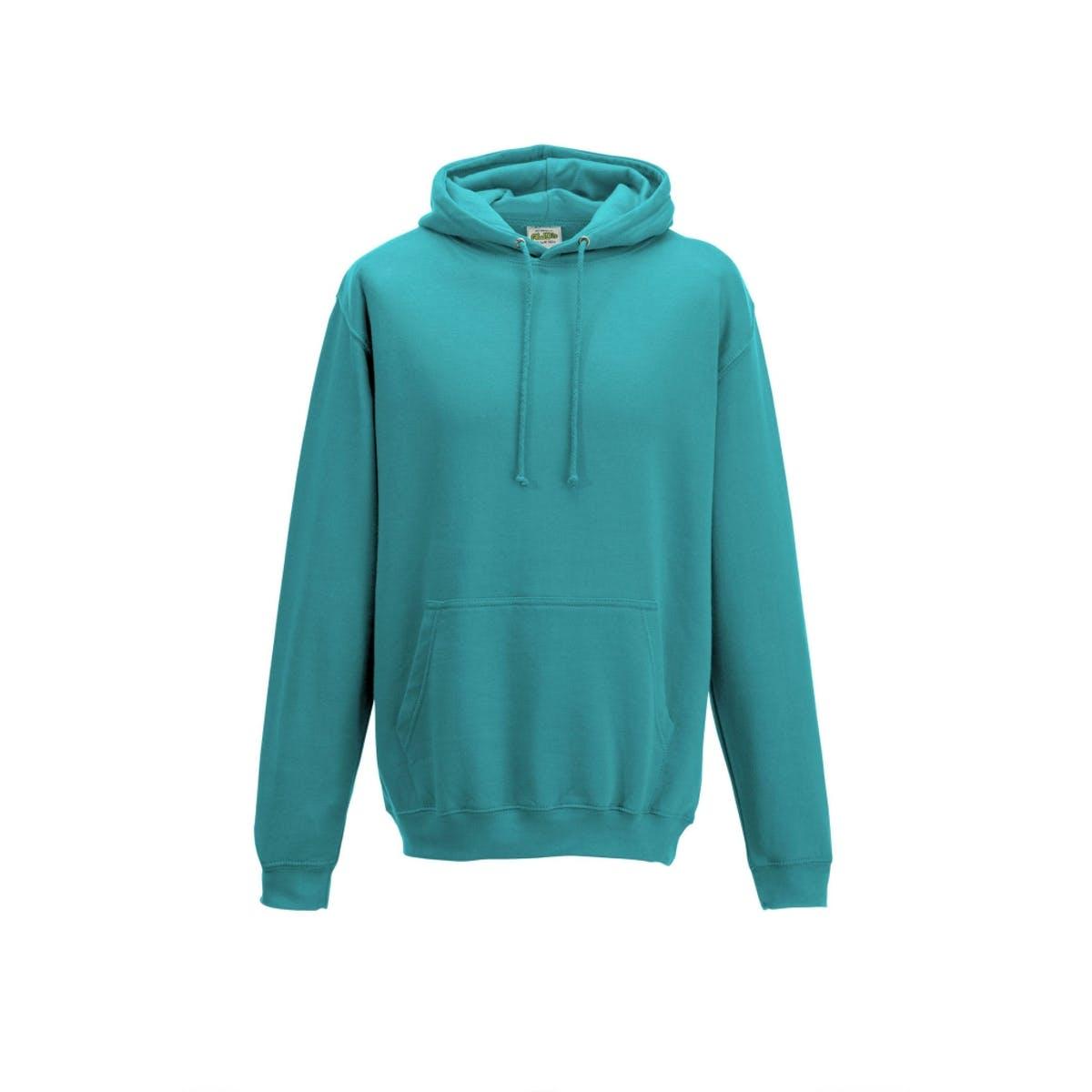 hawaiian blue college hoodies