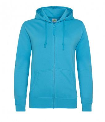 hawaiian blue ladies hoodie