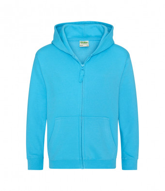 hawaiianblue childrens zipped hoodie