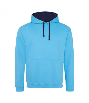 hawaiianblue oxfordnavy contrast hoodies