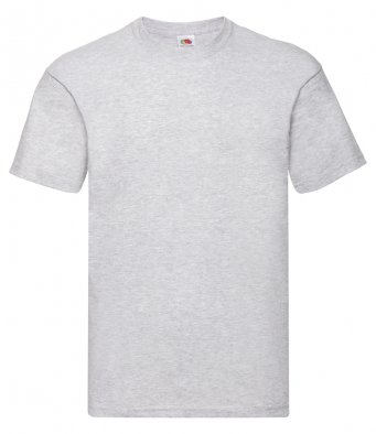 heather grey promotional t shirt