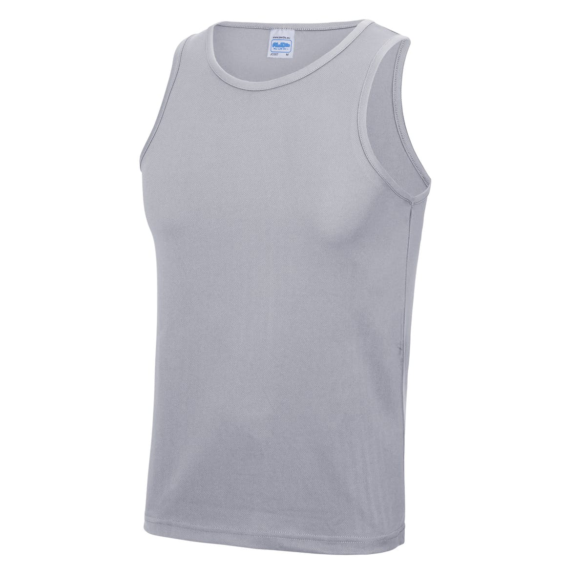 heather grey sports vest