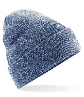 heather navy cuffed beanie