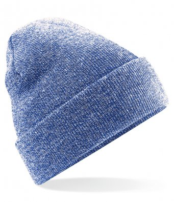 heather royal cuffed beanie